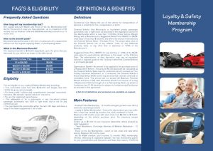 A4 Folded Leaflet Design - Shortfall Cover LLC