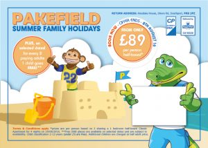 Family Holiday Direct Mailer Design
