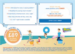 Pakfield Family Holidays Direct Mailer Design