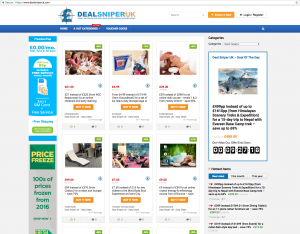 Deal Sniper Uk Website Design