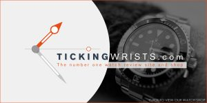 Ticking Wrists Website Banner Design