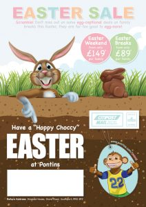 Easter Direct Mailer Campaign Front